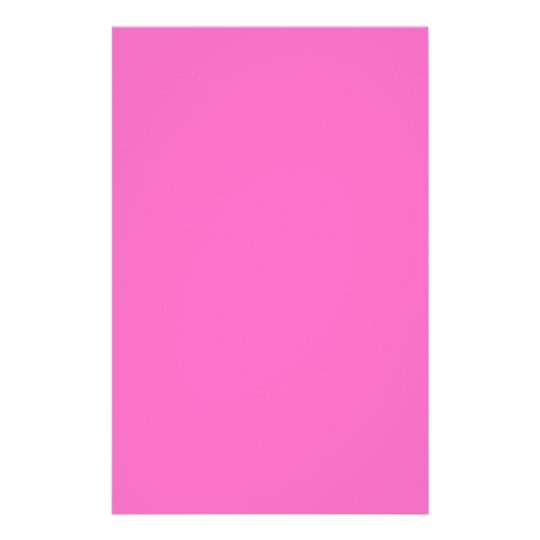 Plain Hot Pink Background Flyer
