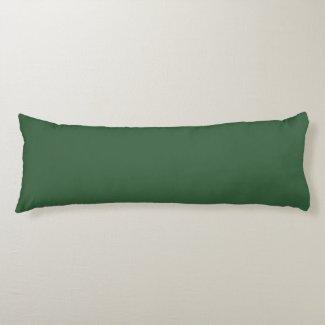 Plain Hunter Green Body Pillow