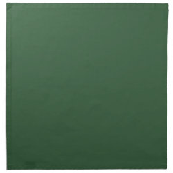 Plain Hunter Green Cloth Napkin