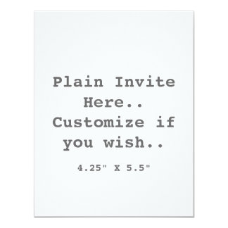 Plain Invite.. Card