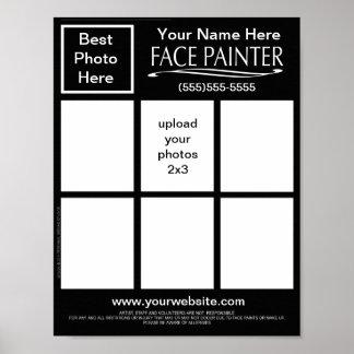 Plain Jane-Face Painters Chart