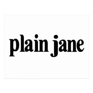 Plain Jane Postcard