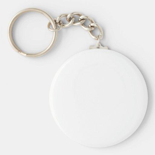 Plain Keychain Zazzle