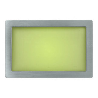 Plain Lemon Lime Belt Buckle