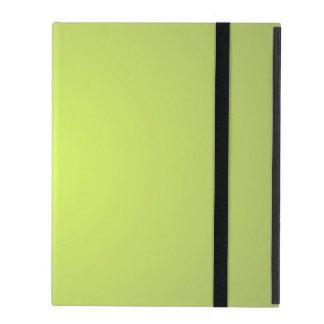 Plain Lemon Lime iPad Folio Case