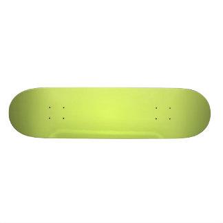 Plain Lemon Lime Skateboard Deck