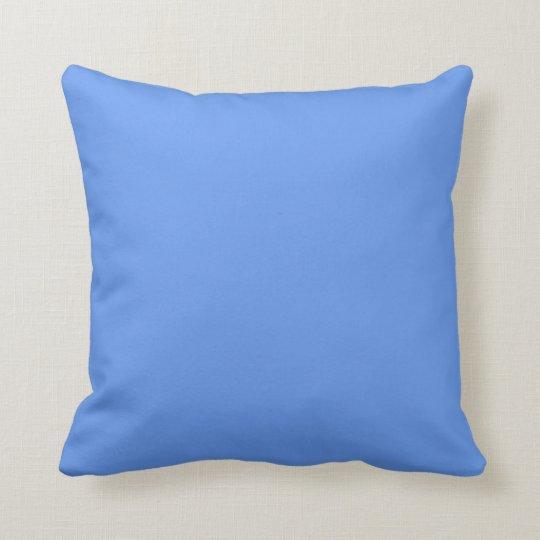 Plain Light Blue Background Throw Pillow