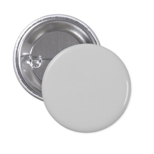 Plain Light Gray Background Pinback Button