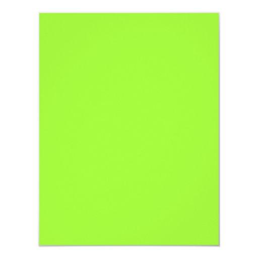 Plain lime green background invitation zazzle - Plain green background ...