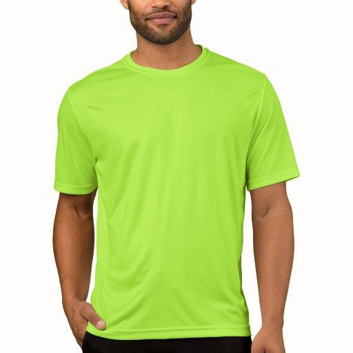 Plain Lime Green Sport Tek Competitor T Shirt Men Zazzle
