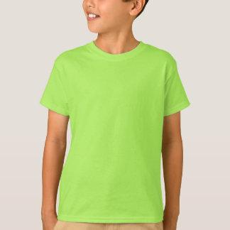 Plain lime green t-shirt for kids