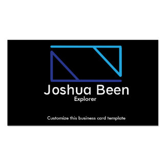 Plain Logo Template Business Card
