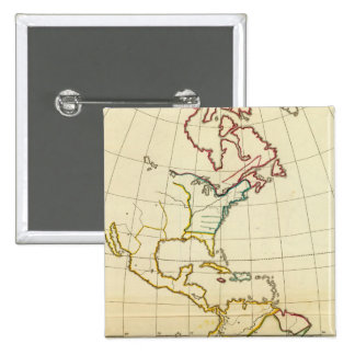 Plain map America Buttons