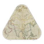 Plain map Asia Speaker