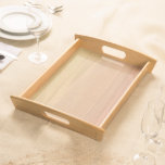 Plain Maple Wood Serving Tray