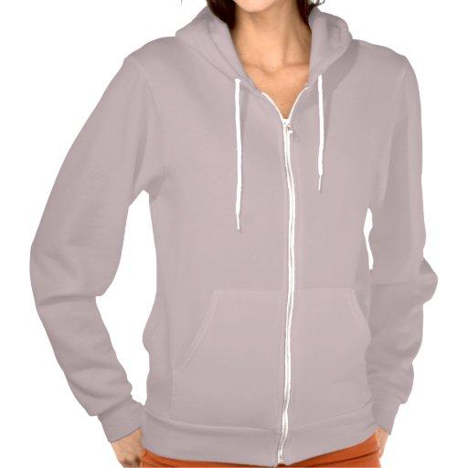 Plain mauve hoodie fleece for women, ladies