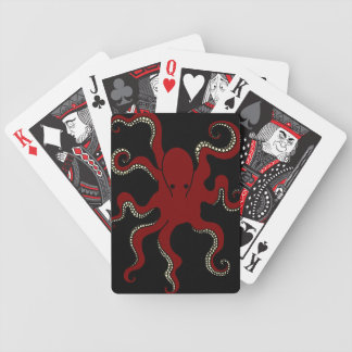 Plain Octopus Playing Cards