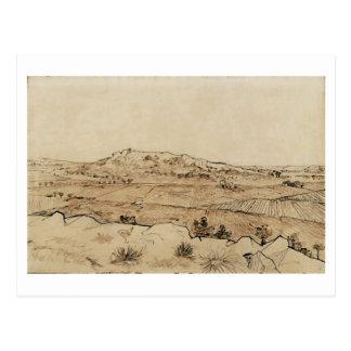 Plain of La Crau, Vincent van Gogh Postcard