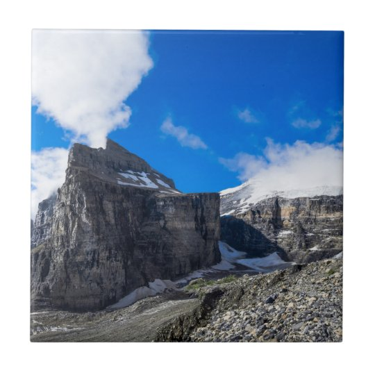 Plain of Six Glaciers Lake Louise Alberta Canada Ceramic Tile