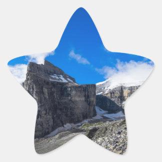 Plain of Six Glaciers Lake Louise Alberta Canada Star Stickers