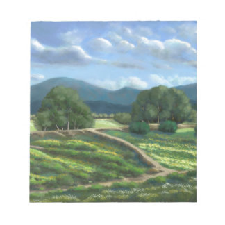 Plain of Winded Wildflowers Notepad
