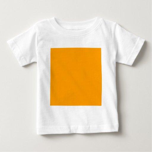 Plain Orange Background. T Shirts