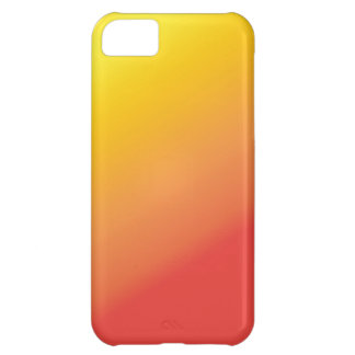 Plain Orange Gold Red Shade Cover For iPhone 5C