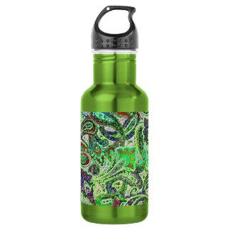 Plain Paisley 1 Water Bottle