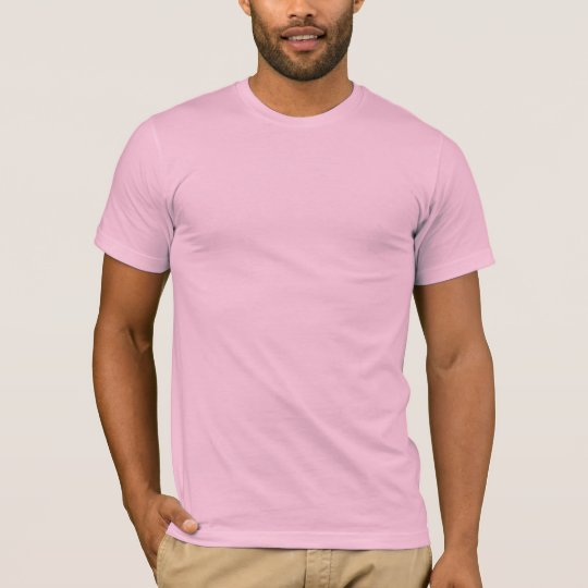 Plain Pale Pink Mens Basic Long Sleeve T-shirt | Zazzle.com