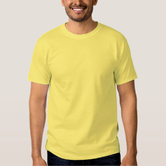 Plain pale yellow casual basic t-shirt for men