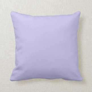 Plain Periwinkle (Violet) Background Pillow
