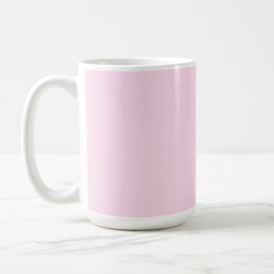 Plain Pink Background Coffee Mug