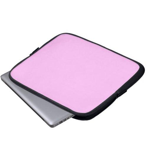 Plain Pink Laptop Sleeves