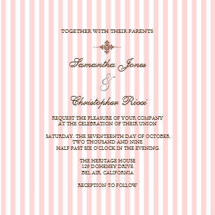 plain pink invitations zazzle