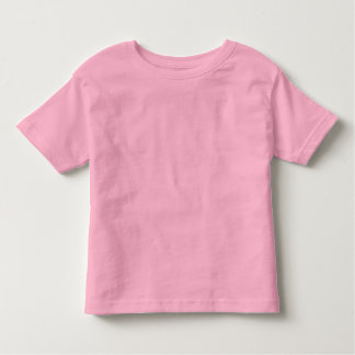 Kids Pink Plain T-Shirts | Zazzle