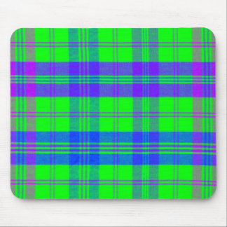 Plain Plaid 1b Mouse Pad