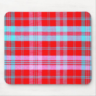 Plain Plaid 1c Mouse Pad
