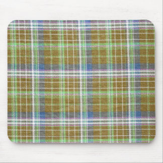 Plain Plaid 3b Mouse Pads