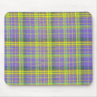 Plain Plaid 3c Mousepads