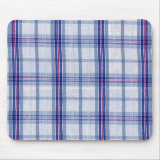 Plain Plaid 4 Mouse Pad