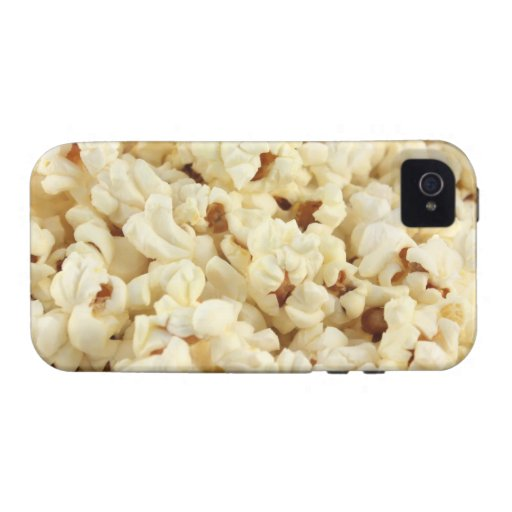 Plain popcorn close up. case for the iPhone 4