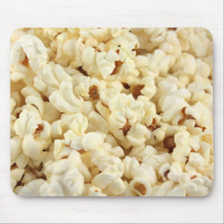 Plain popcorn close up. mouse pad