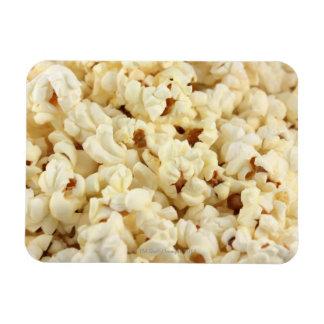 Plain popcorn close up magnets