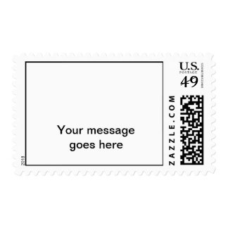 Plain Postage Stamp