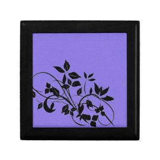 Plain Purple Jewelry Box