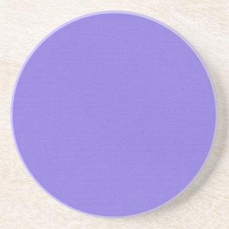 Plain Purple Sandstone Coaster