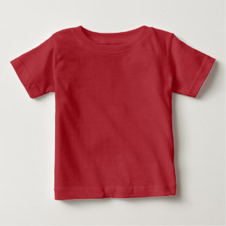 Plain Red Baby Fine Jersey T-Shirt