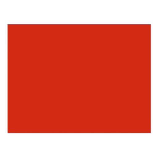 Plain Red Background. Postcard