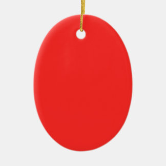 Plain RED : Buy BLANK or Add TEXT n IMAGE lowprice Ceramic Ornament