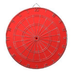 Plain RED : Buy BLANK or Add TEXT n IMAGE lowprice Dartboard With Darts
